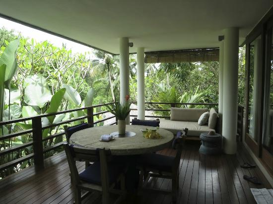 The Purist Villas and Spa: Dining area