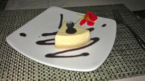 Jamahal Private Resort & Spa: Cheesecake