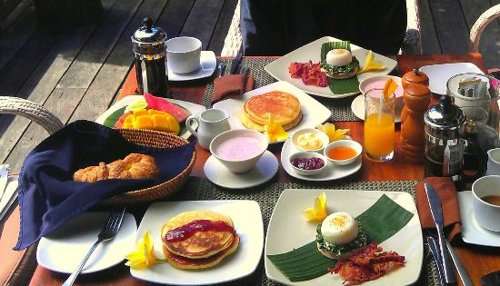 Jamahal Private Resort & Spa: Breakfast
