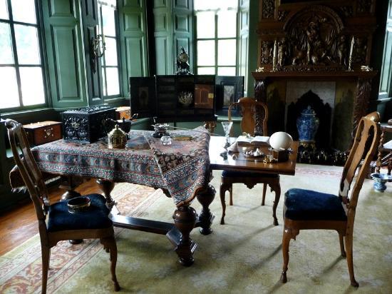Hollanda: Menkemaborg beautiful interior