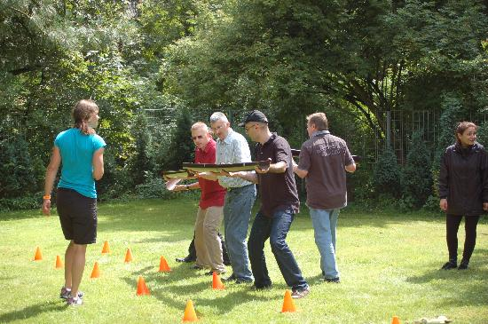 Best Western Plus Parkhotel Velbert: Outdoor Teambuilding