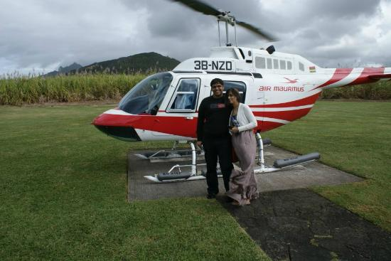 Four Seasons Resort Mauritius at Anahita: heli tour from hotel