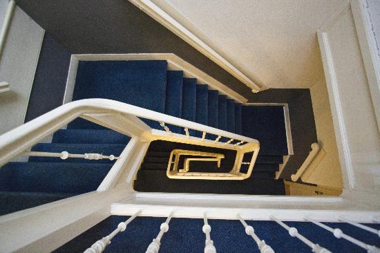 Hotel La Boheme: famous stairs