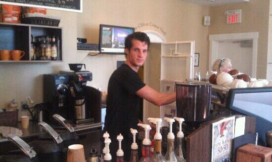 Samuel's Coffeehouse: Our barrister