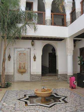 Riad Viva: Entrance hall