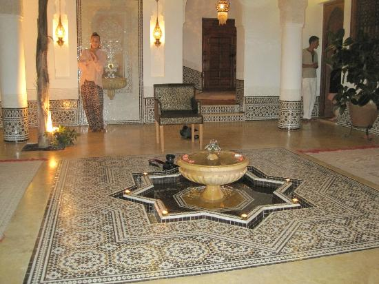 Riad Viva: Entrance hall