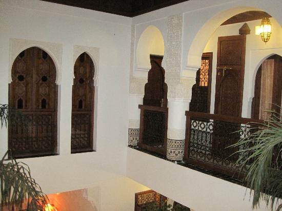 رياض فيفا: Second floor of Riad 