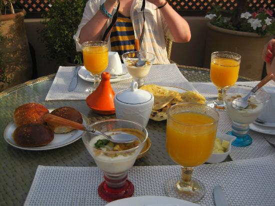 Riad Viva: Breakfast day 2