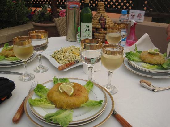 Riad Viva: Dinner at the Riad