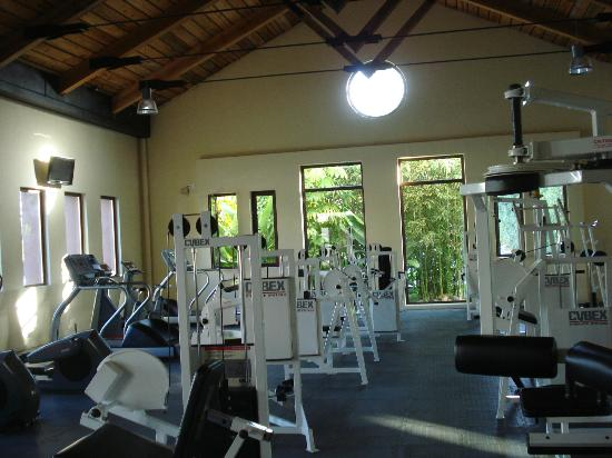 Taheima Wellness Resort & Spa: Great workout center!