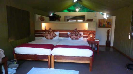 ‪‪Elephant Valley Lodge‬: Elephant Valley Lodge Tent interior