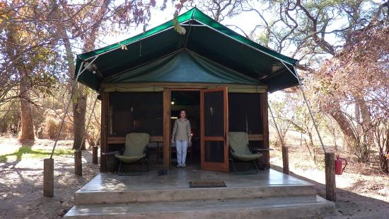 Elephant Valley Lodge: Our comfortable tent