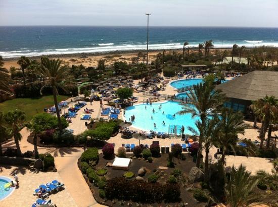 Hotel Elba Sara : view from the sixth floor balcony