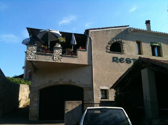 Hotel Restaurant La Fontaine : Terrazza