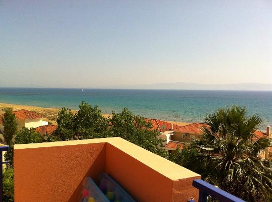 Mounda Beach Hotel: View from 202