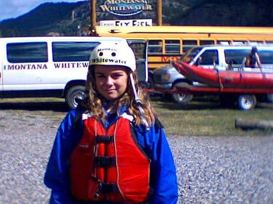 Montana Whitewater Raft Company: ready to go rafting, this pic from 2011 trip