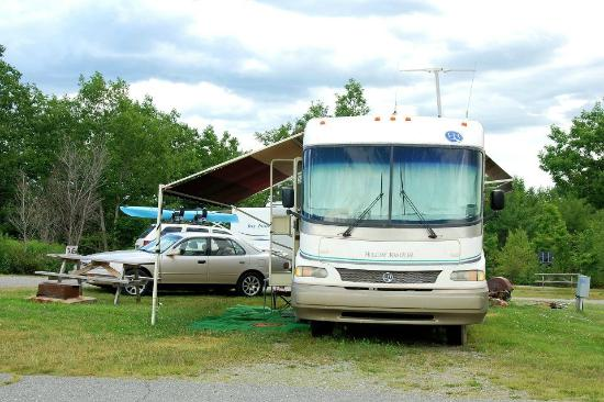 Bar Harbor Campground: RV camp site B1
