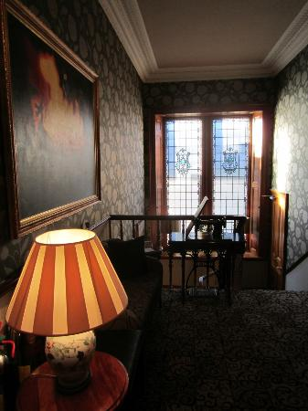 The Dunstane Hotel: Even the hallway is stylish