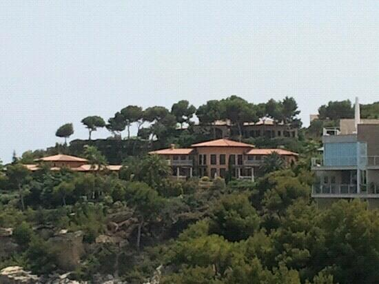 SENTIDO Cala Viñas: view from room supposed to be simon cowells villa