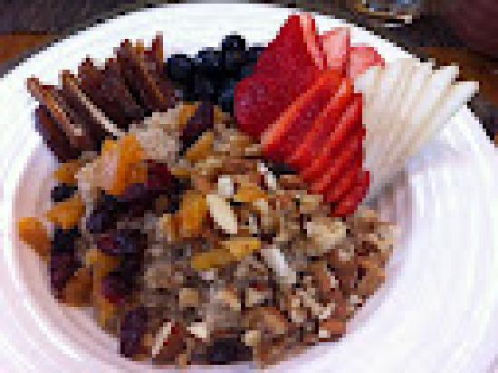 Black Bear Guesthouse: Gourmet vegan requested breakfast!!