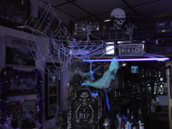 The New Chelvedon Hotel: Our Bar Decorated For Halloween