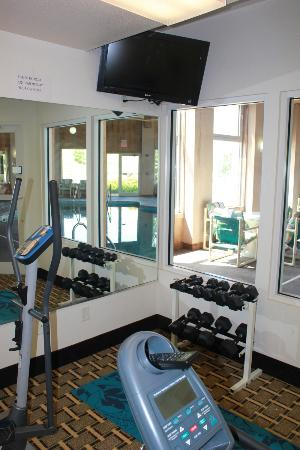 Quality Inn & Suites: Fitness Room