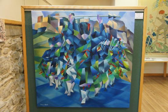 Tolbooth Art Centre: Example of one of the art exibits