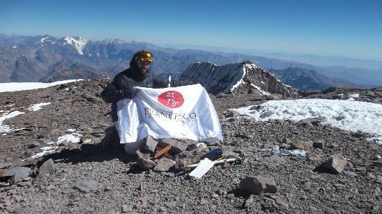 Francesco Barbera Ristorante : En lo más alto del Aconcagua, también estamos!
