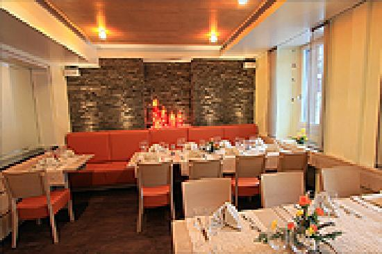 Hotel des alpes: Speisesaal Restaurant des alpes Fiesch