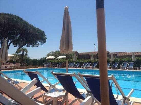 Residence La Casetta: one of the pool areas
