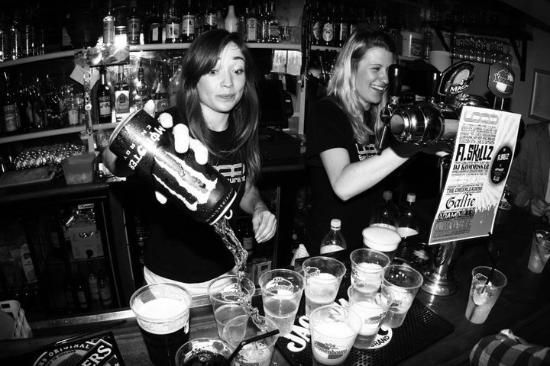 The Loop Bar : Bombs away.