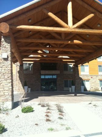 Holiday Inn Express Hotel & Suites Sandpoint North : entrance