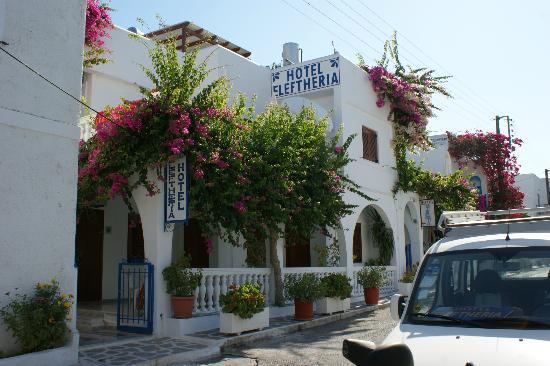 Hotel Eleftheria Parikia: l'hôtel Eleftheria