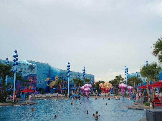 Disney's Art of Animation Resort: Nemo Pool