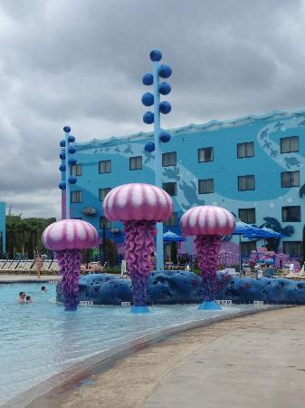 Disney's Art of Animation Resort: Pool fun