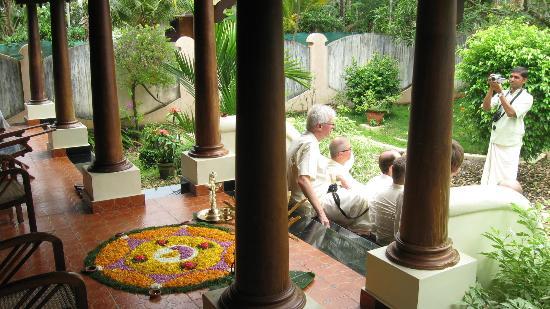 Nelpura Heritage Homestay: Outside the Home stay