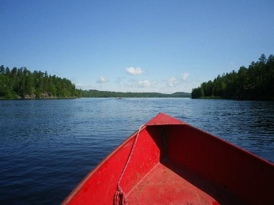 Lost Lake Wilderness Lodge: Heading to the good spots....