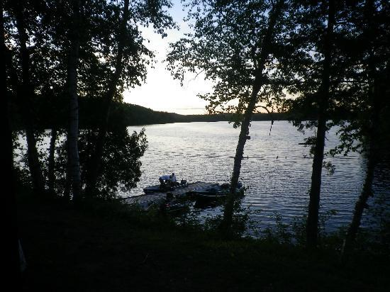 Lost Lake Wilderness Lodge: Our warf ....