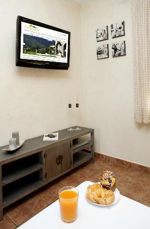 Casas Rurales Ordesa: Zona TV casa Roble
