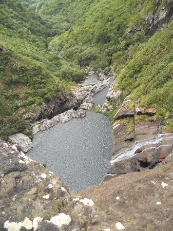 Riviere Noire: vue des chutes tamarin