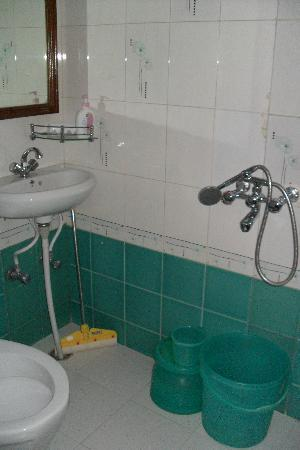 All Seasons Homestay Jaipur: Very clean all round, nice bathroom.