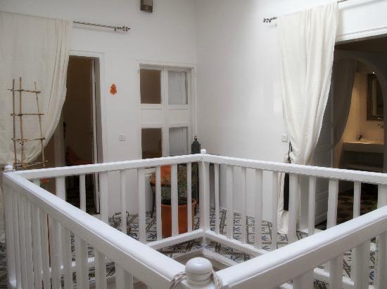 Riad Orange Cannelle: patio deuxième étage