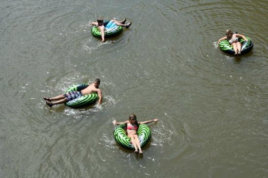 The Outpost: Floating Down the River on a Hot Day!!