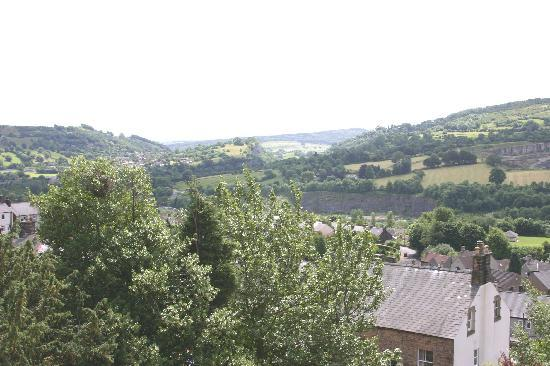 Robertswood House: The View Over Matlock
