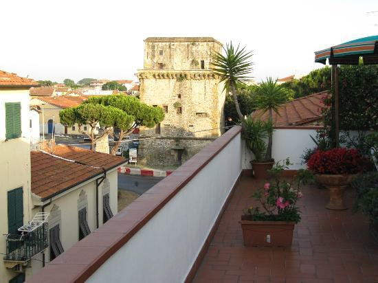 Hotel Lupori: Torre Matilde from roof terrace