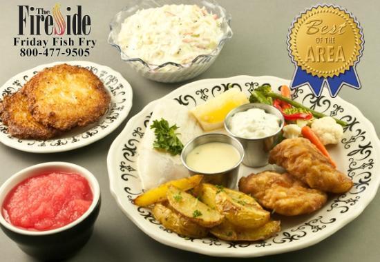The Fireside Restaurant: Best of the Area Fireside Fish Fry