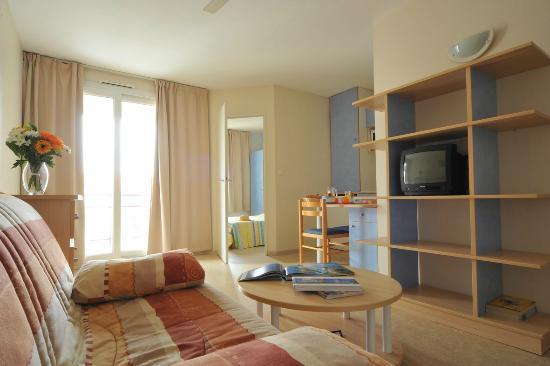 Residences de Bougainville: séjour appartement