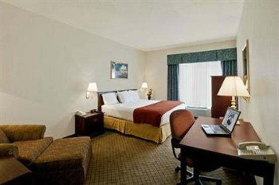 Quality Inn & Suites: King Bedroom