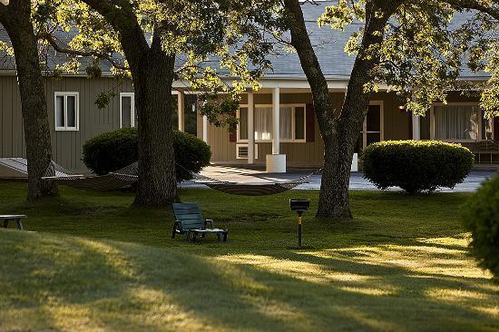 أوشن بارك إن: Spacious Lawn
