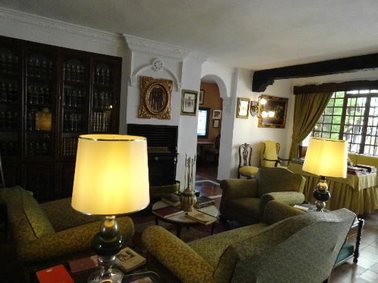 Hotel San Gabriel: the lobby
